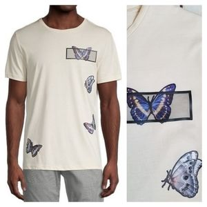 🦋 Antony Morato Designer Mens Butterfly T-Shirt